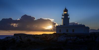 Menorca, Islas Baleares, Spain: Cavalleria Lighthouse