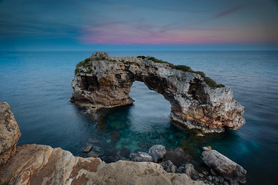 Mallorca, Islas Baleares, Spain: Es Pontás arch.