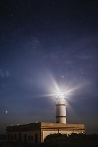 Mallorca, Islas Baleares, Spain: Cap Salines lighthouse