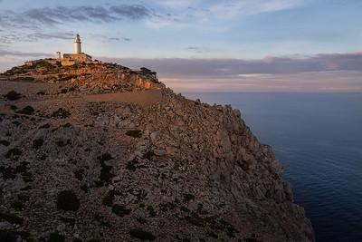 Mallorca, Islas Baleares, Spain: lighthouse at Cap de Formentor