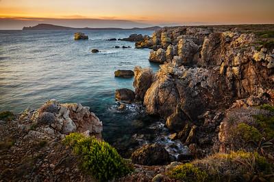 Menorca, Islas Baleares, Spain: near Faváritx Lighthouse