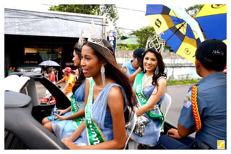 Mutya ng Ibalong 2011 Winners, Taken during the Street Presentation.