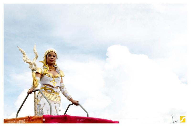 The Princess Warrior of Ibalong Festival 2011