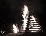Lutcher Christmas Bonfires 2012 Photo 3