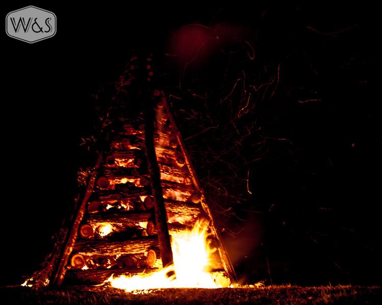 Lutcher Christmas Bonfires 2012 Photo 1