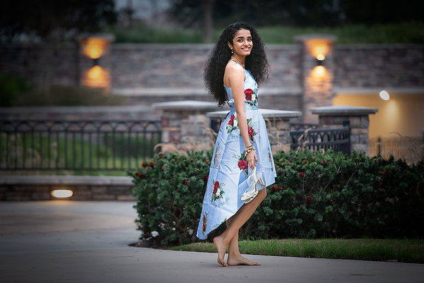 "Ritika walking barefoot at ""The Club at Riverstone"" (Sugar Land, TX)"