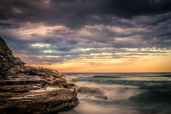 Bronte and the fishermen
