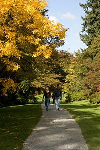 inside the Arboretum