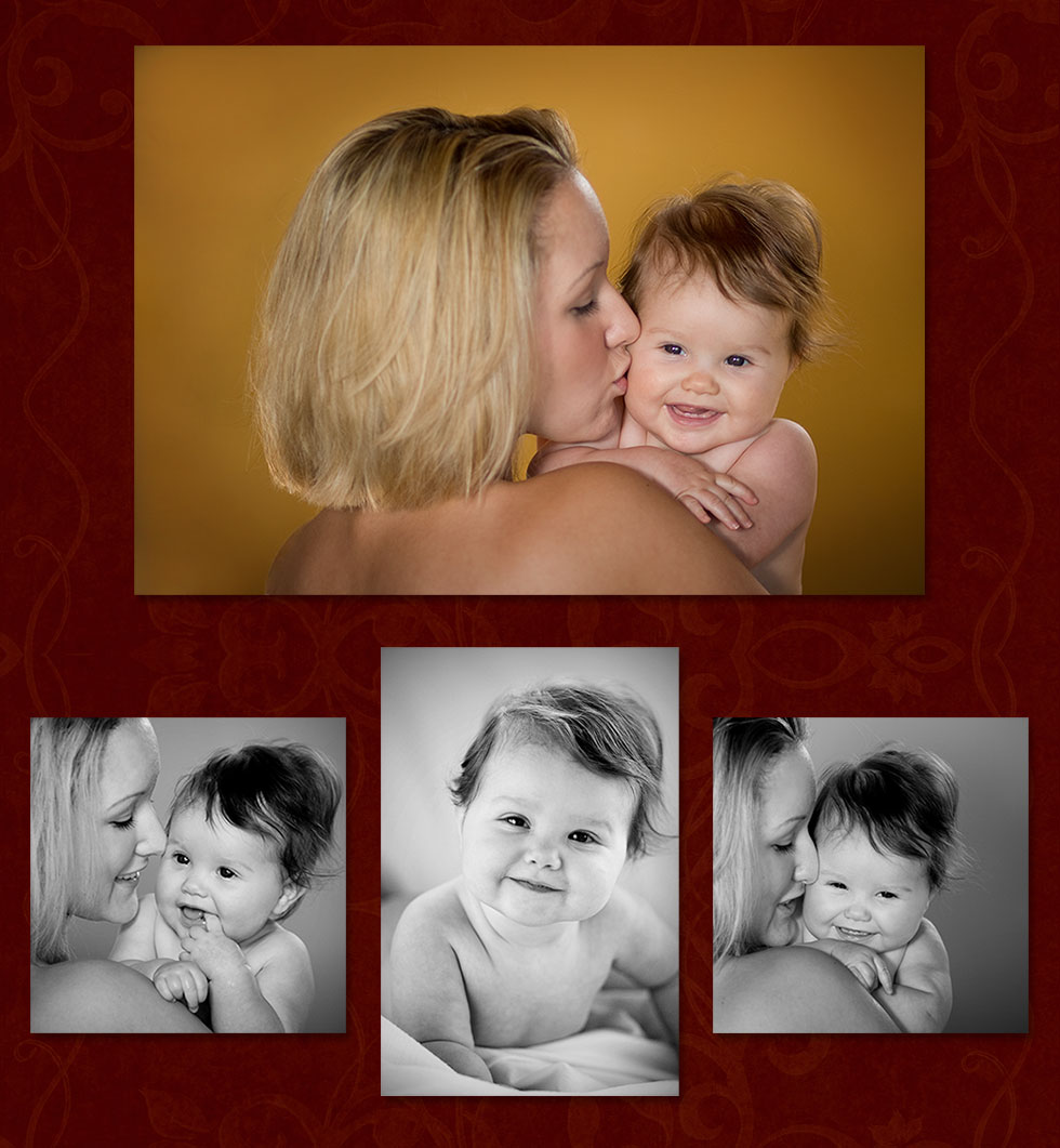 Baby Photo with Mother, Newborn Portraits