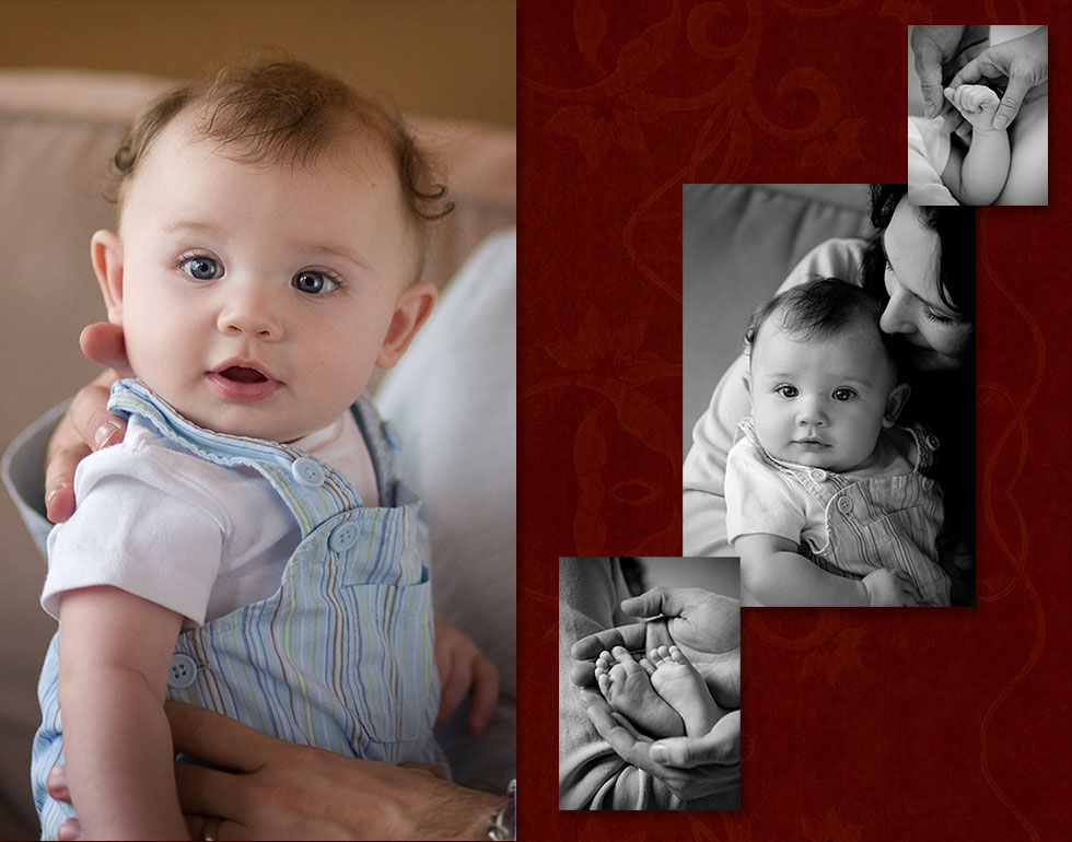 Newborn Portraits, Location Family Portraits