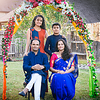 Family photo session during Ganesh festival in 2019