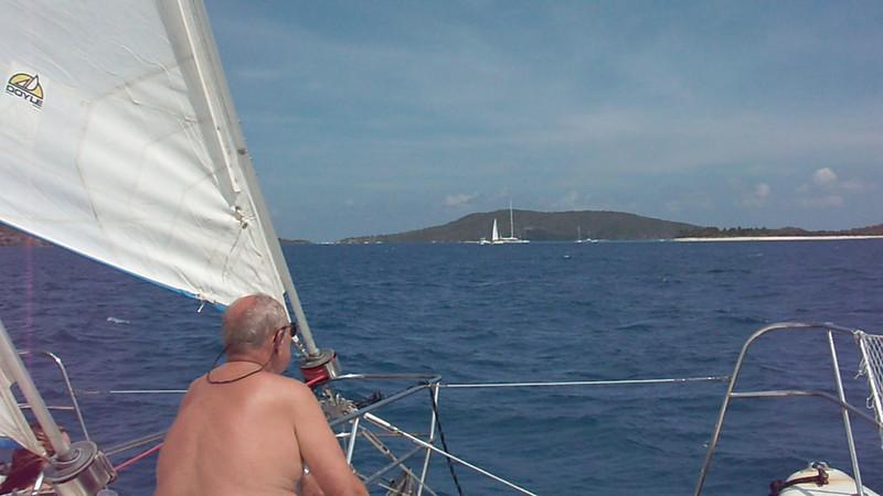 DSCF0093   -   Tortola - headed to Sandy Spit