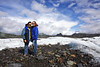 You guessed it, Alejandro and Kassidy are hamming it up on the Matanuska Glacier.