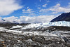 This is a view of leading edge of the Matanuska Glacier.