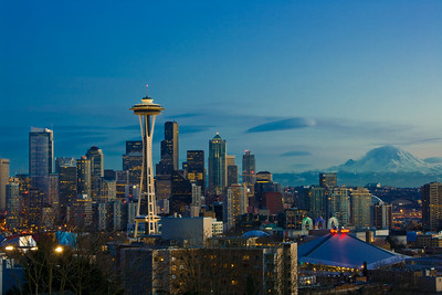 Seattle from Kerry Park