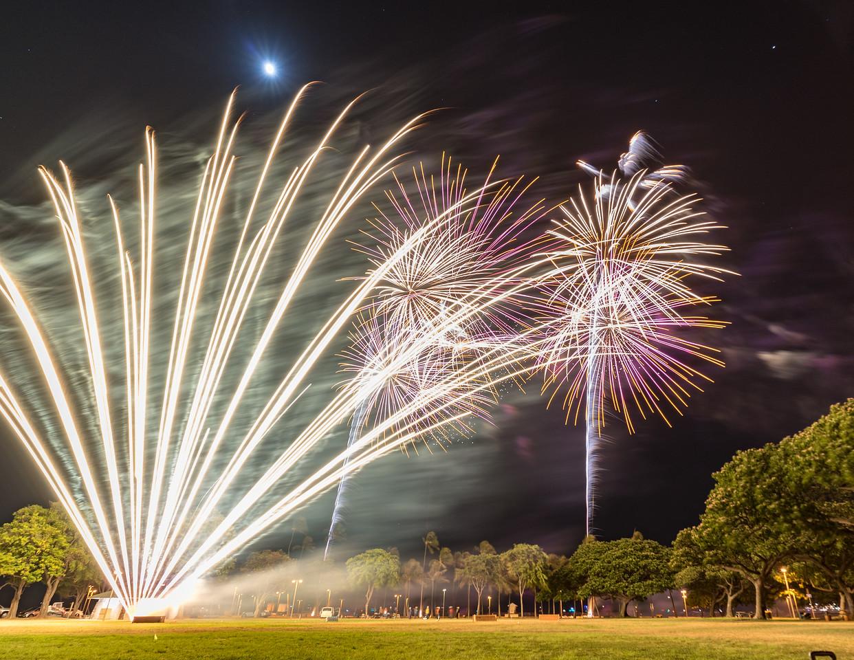 Fan of Fireworks