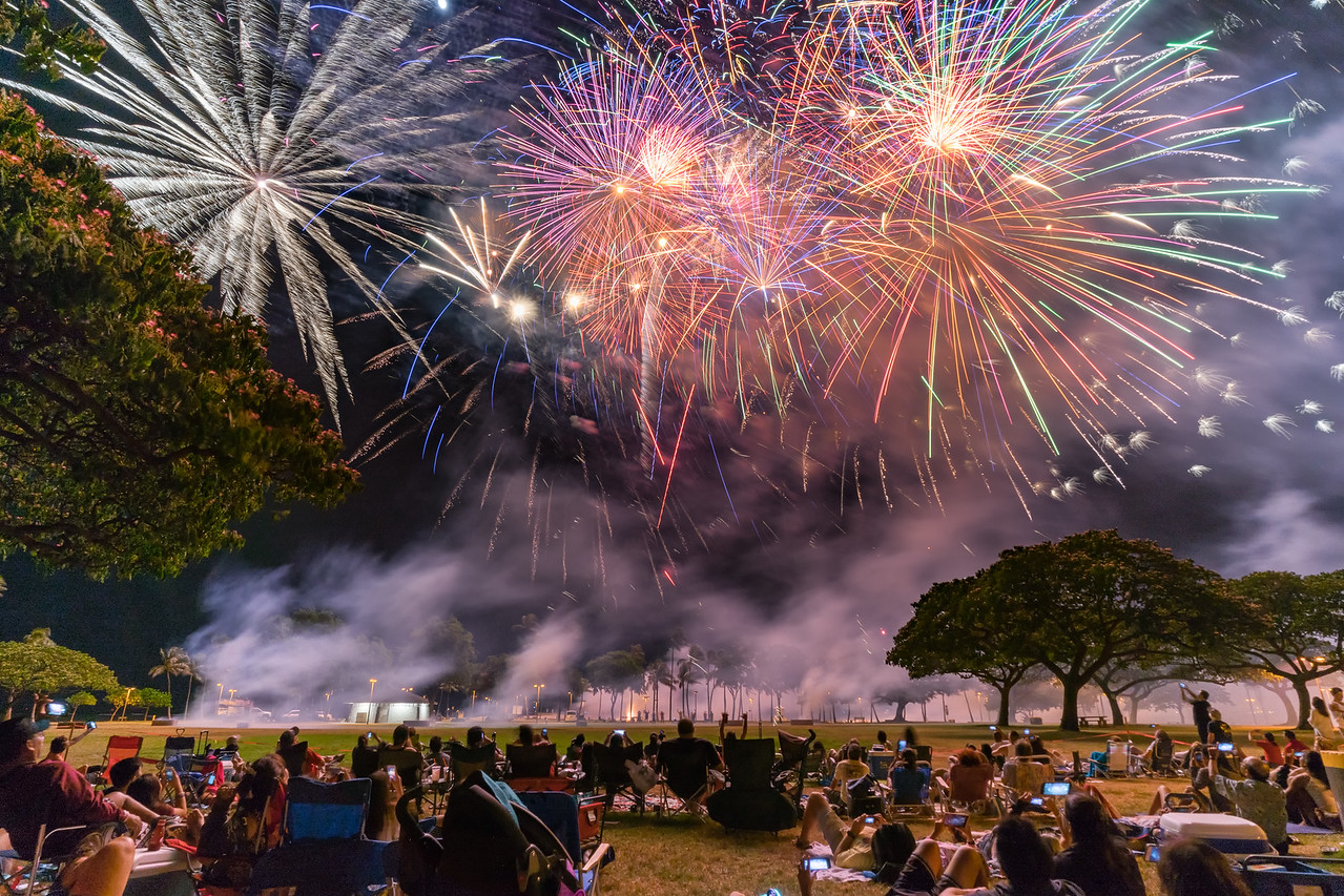 Magic of Fireworks