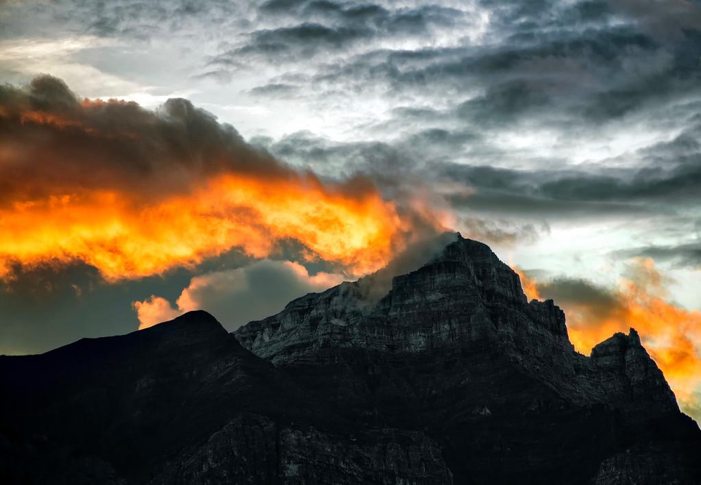 Mountain On Fire