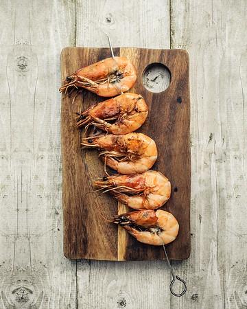BBQ Shrimp Skewer