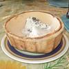 Ice cream on coconut