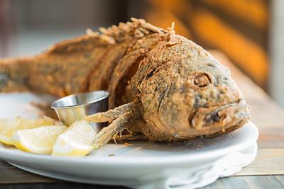 Crispy Whole Black Bass at Commonwealth Restaurant, Cambridge, MA