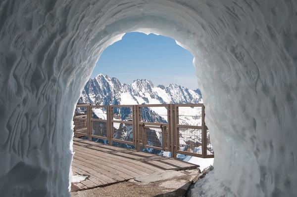Alpine Snow Tunnel