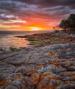 Tasmanian Sunset II
