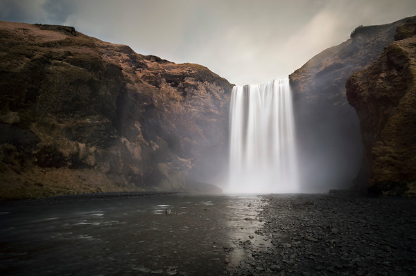 The Mighty Skogafoss