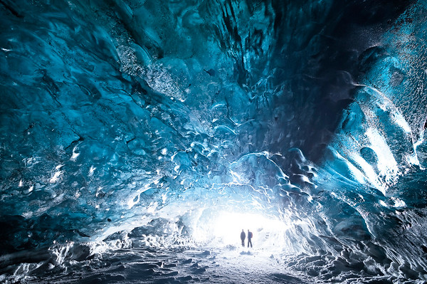 Underneath Vatnajokull