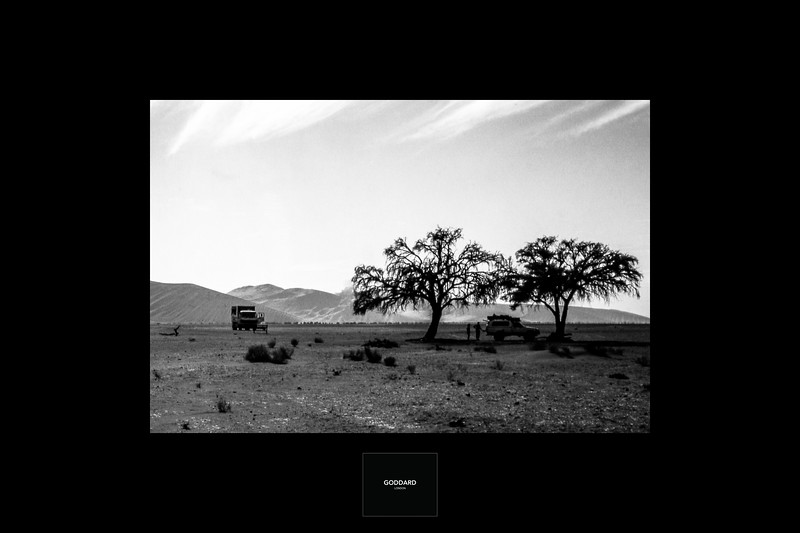 Namibia, Sossusvlei 1998