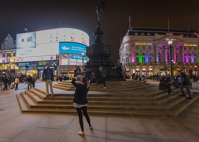 Say 'Cheese', Picadilly Circus, London.