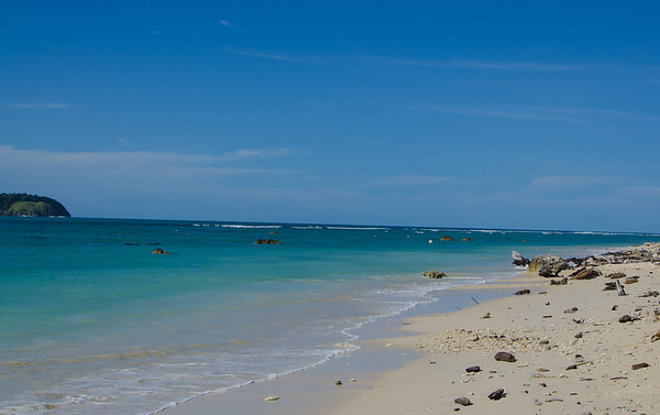 Beach in Melingge, Pulo Aceh