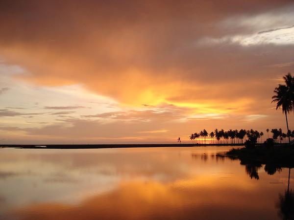 Sunset, Suak Pandan