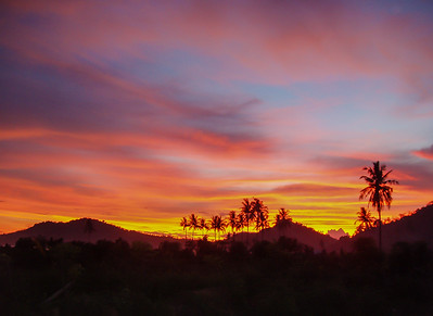 Sunset in Krueng Kala, Aceh Besar