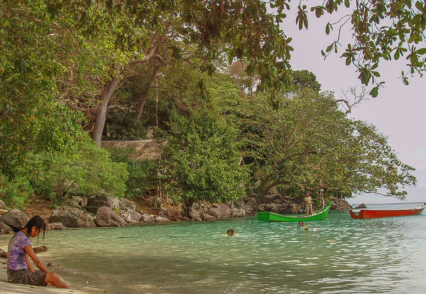 Iboh beach, Weh Island
