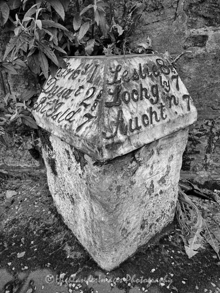 Milestone marker, Kirkcaldy