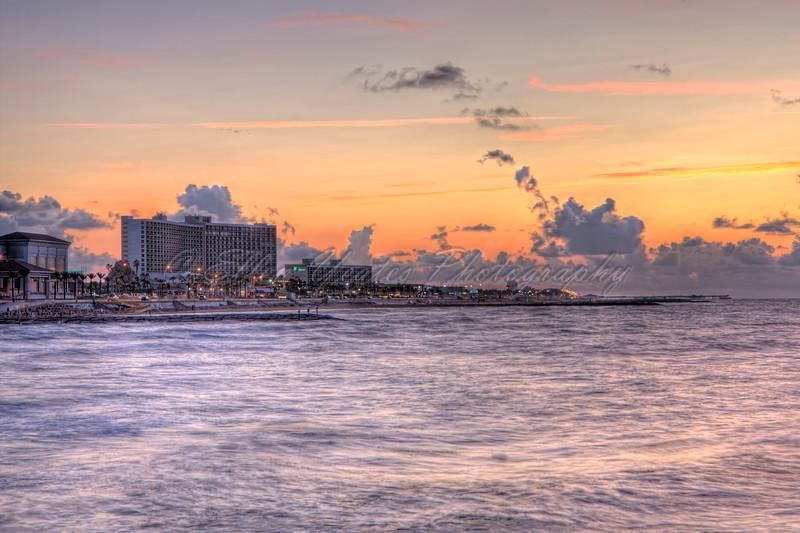 Galveston Beach Sunrise