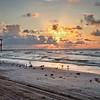 Sunrise Galveston Beach