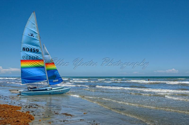 Sailboat at Jamaica Beach