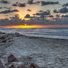 Sunrise Galveston Beach