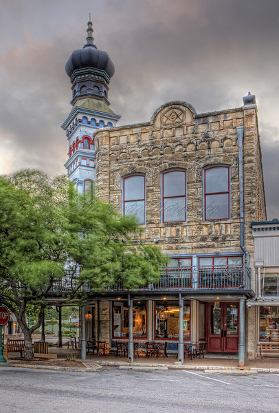Victorian Architecture In Historic Downtown <br /> <br /> This photo was taken during sunrise at Georgetown, Texas