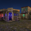 Tri-Color Ghost Town (HDR)