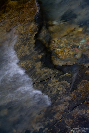 Siyeh Creek Abstract
