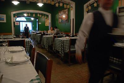 Restaurante Jardim di Napoli, São Paulo, 2009, Brasil.