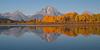 Mt Moran Autumn Reflection