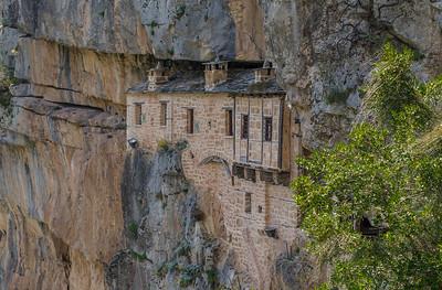Kipina monastery near Kalarites village, Tzoumerka