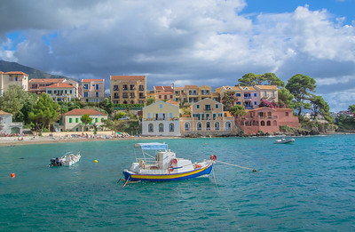 The picturesque village of Assos, Kefalonia