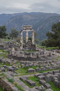The Sanctuary of Athena Pronaia, Delfi