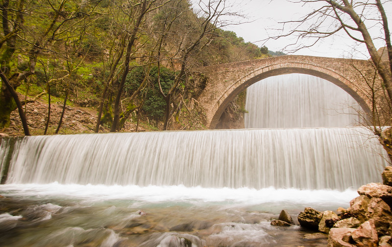 Palaiokarya waterfalls, Trikala