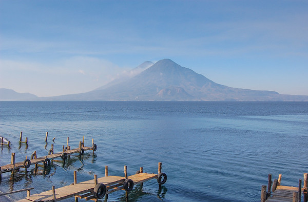 Lake Atitlan view from Panajachel